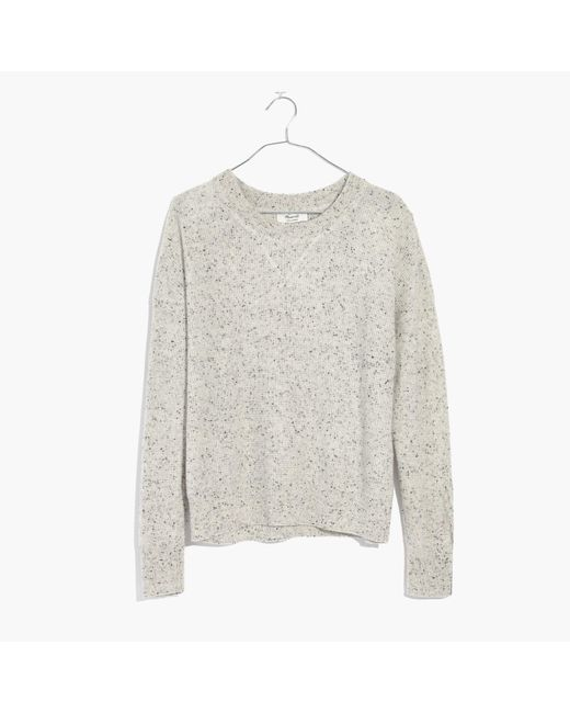Madewell | Multicolor Cashmere Sweatshirt | Lyst