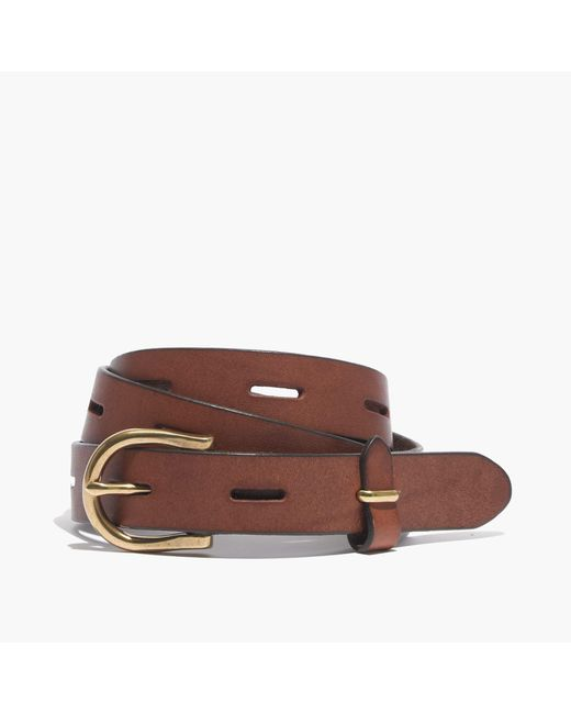 Madewell | Brown Backcountry Belt | Lyst