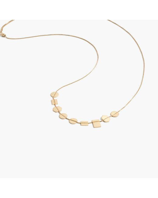 Madewell | Metallic Holding Pattern Necklace | Lyst