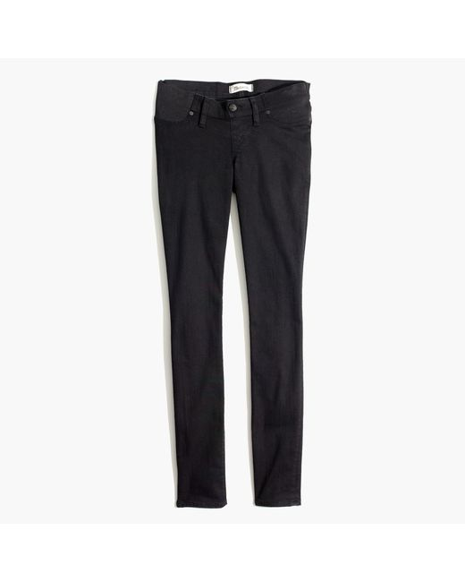 Madewell | Maternity Skinny Jeans In Black Frost | Lyst