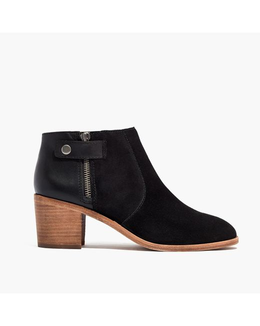 Madewell | Black The Alicia Boot | Lyst