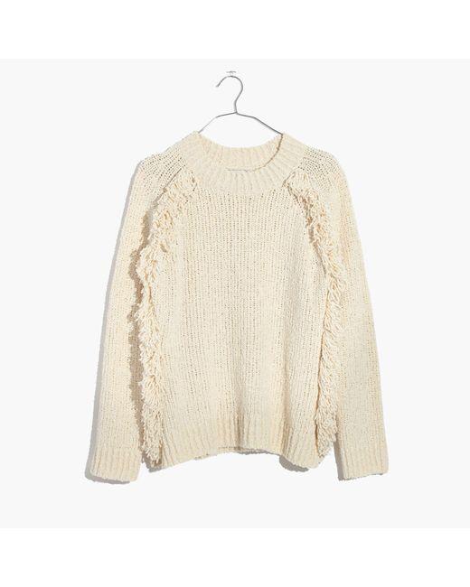 Madewell | Multicolor Loop-edge Pullover Sweater | Lyst