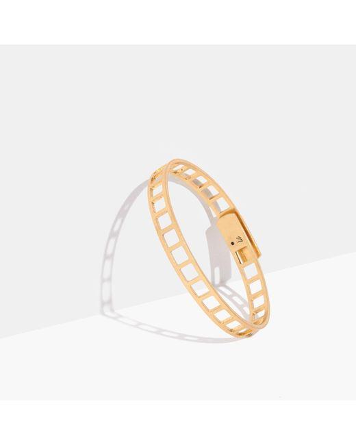 Madewell - Metallic Tracecraft Bangle Bracelet - Lyst