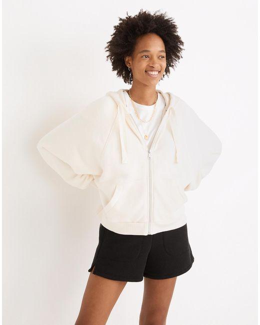 MW Natural L Airyterry Cocoon Hoodie Sweatshirt