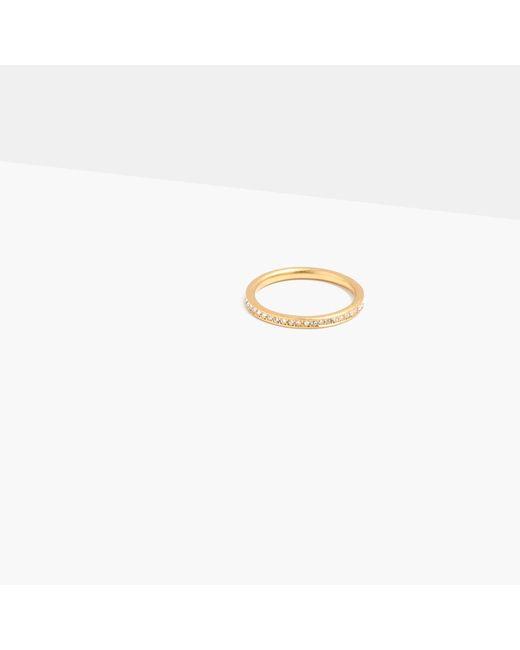 Madewell | Metallic Mon Petit Pavé Ring | Lyst