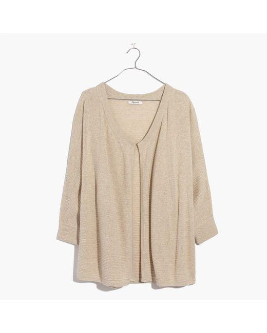 Madewell | Natural Seabank Cardigan Sweater | Lyst
