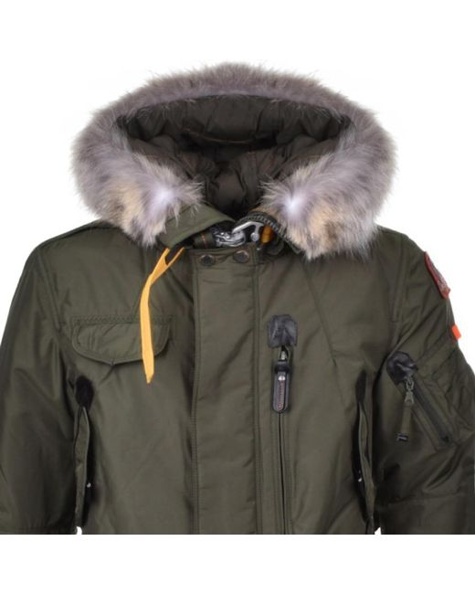 ... Parajumpers - Right Hand Man Jacket Green for Men - Lyst ...