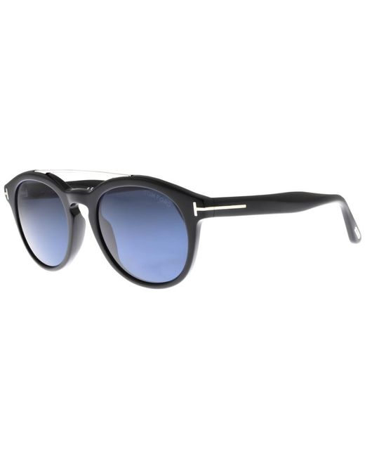 d8852312ba Tom Ford Newman Sunglasses Black in Black for Men - Lyst