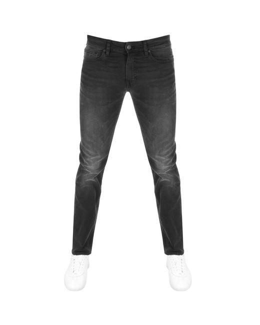 ae30e064c BOSS by Hugo Boss - Gray Delaware Slim Fit Jeans Grey for Men - Lyst ...