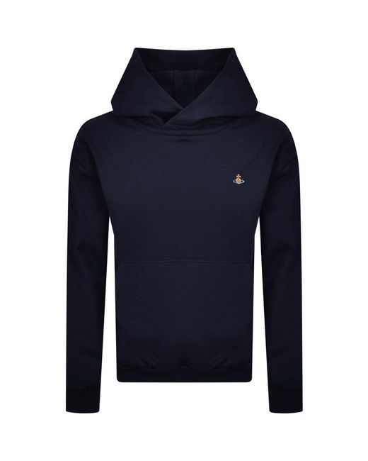 Vivienne Westwood Blue Pullover Hoodie for men