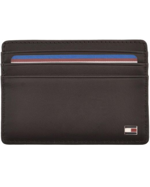 Tommy Hilfiger Brown Eton Card Holder for men