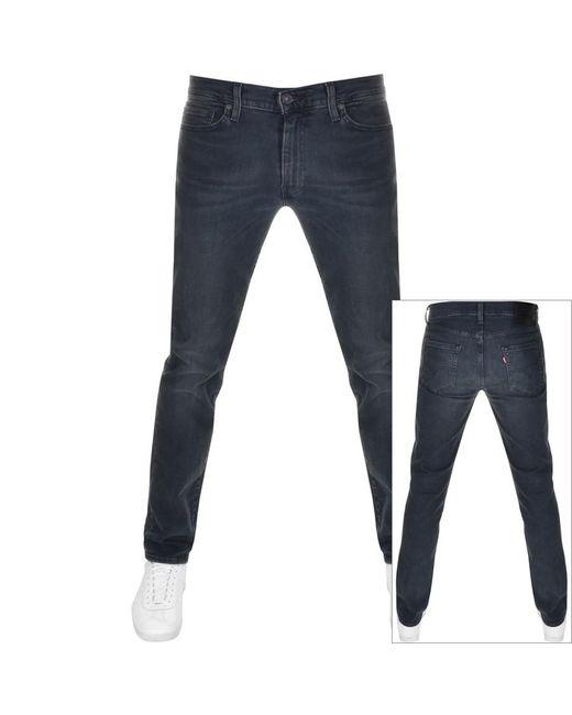 Levi's Blue 511 Slim Fit Jeans Navy for men