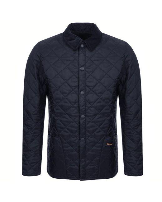 Barbour Blue Liddesdale Navy Padded Jacket for men