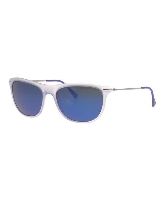 Prada Gray Linea Rossa Sport Sunglasses for men