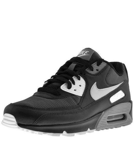 release date: 19b39 3af4d Nike - Air Max 90 Essential Trainers Black for Men - Lyst ...