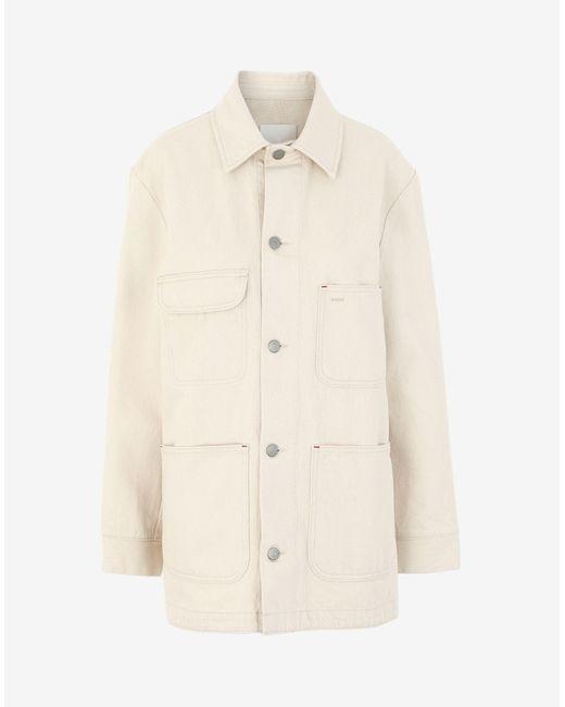 Maison Margiela アップサイクルデニム ジャケット White