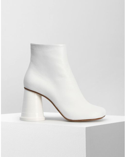 Mm6 Maison Margiela cup heel ankle boots buy cheap authentic mMMq25xH72