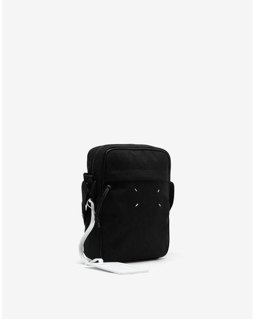メンズ Maison Margiela Mini クロスボディバッグ Black