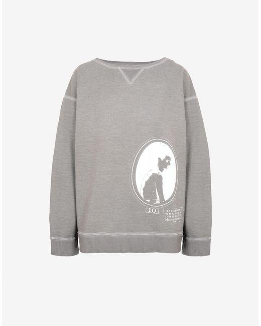 メンズ Maison Margiela Cameo スウェットシャツ Gray