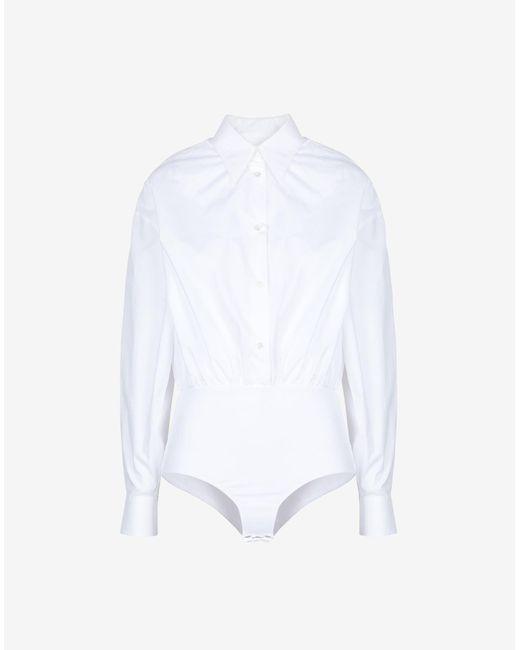 Maison Margiela シャツ ボディスーツ White
