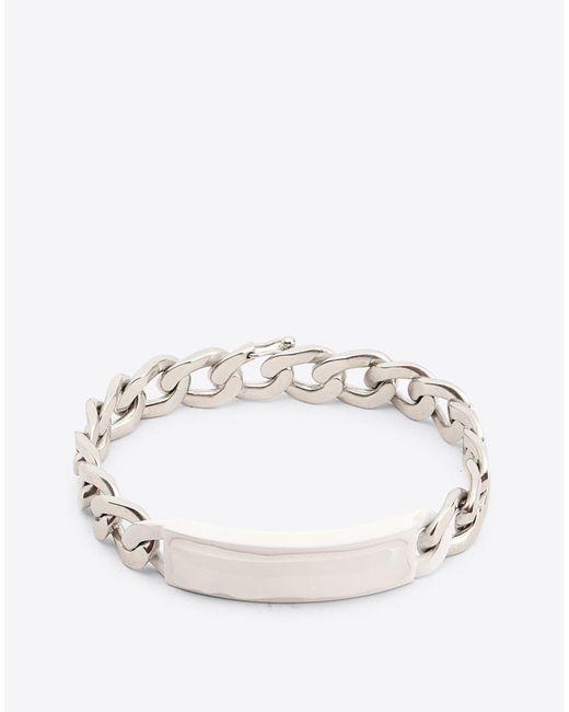 Maison Margiela - White Anonymous Id Bracelet for Men - Lyst