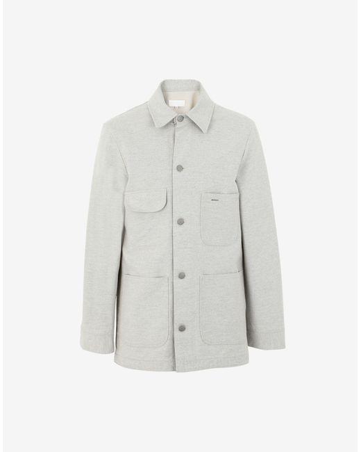 メンズ Maison Margiela アップサイクルデニム ジャケット White