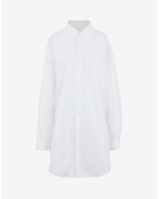 Maison Margiela オーガニックコットン シャツ White