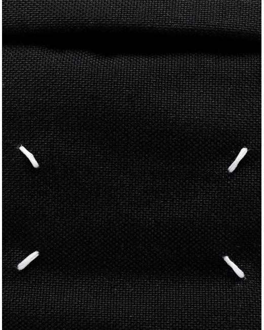 メンズ Maison Margiela 4ステッチ バムバッグ Black
