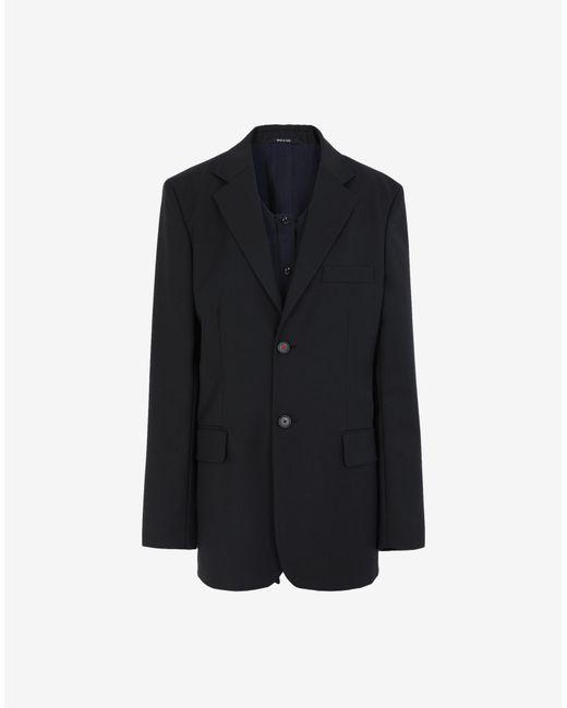 Maison Margiela スカーフ ジャケット Black