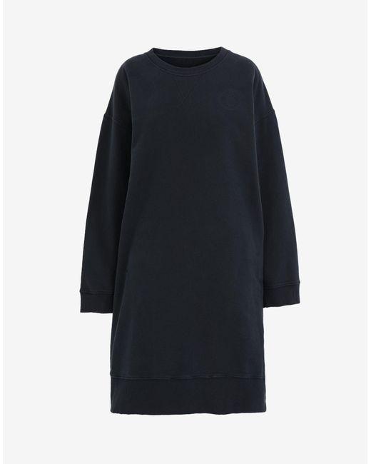 Maison Margiela オーバーサイズ スウェットシャツ ドレス Black