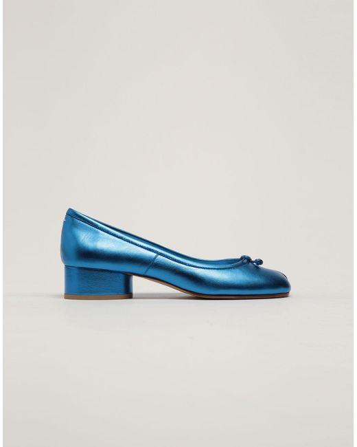 1211f6b4a183 Maison Margiela - Blue Ballerina Shoes - Lyst ...
