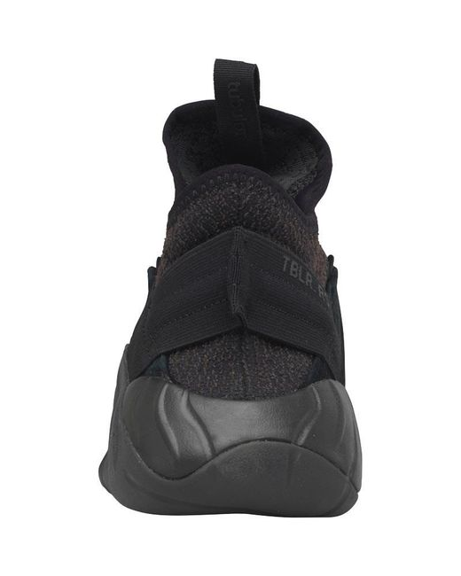 hot sale online fad11 779f1 ... Adidas Originals - Tubular Rise Trainers Core Black core Black core Red  for Men ...