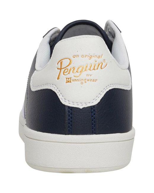 Original Penguin Steadman Halbschuhe Navy in Blue für Herren