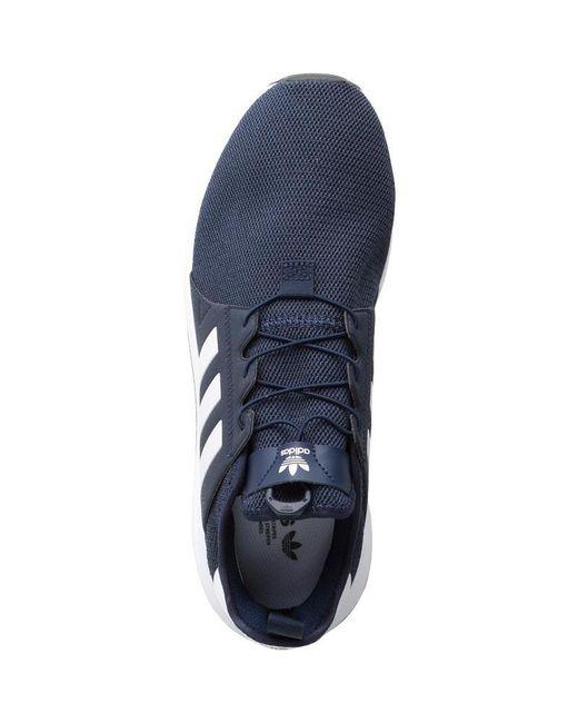 7008052e9789 ... Adidas Originals - Blue X plr Trainers Collegiate Navy footwear  White core Black for Men ...