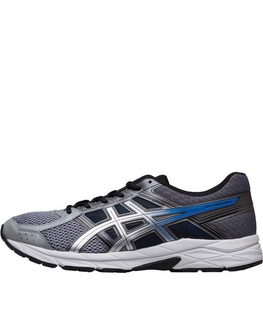 Asics Gel Contend 4 Grey Silver White Men Running Shoes
