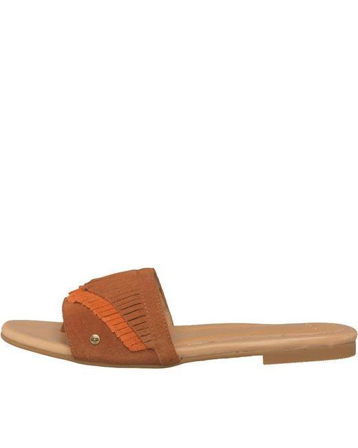 11e18eb57b92 Ugg - Brown Binx Sandals Chestnut - Lyst ...