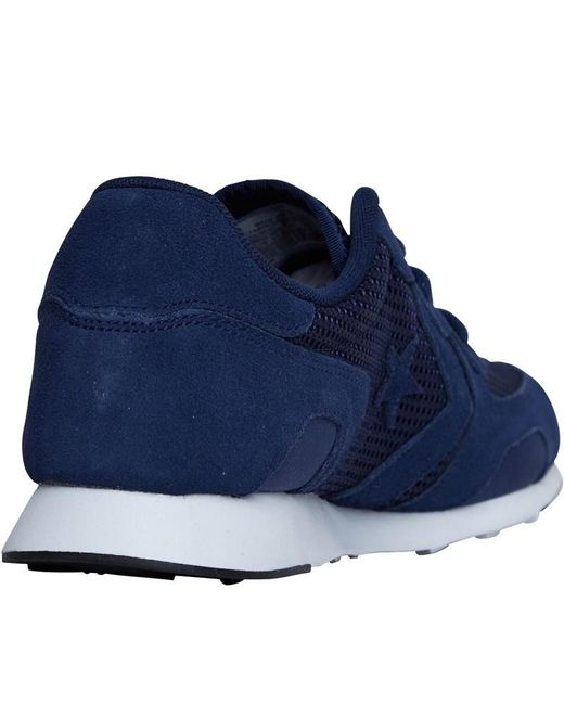 246731e38f92f Converse Suede Thunderbolt Ox 84 Trainers Midnight Navy/midnight ...