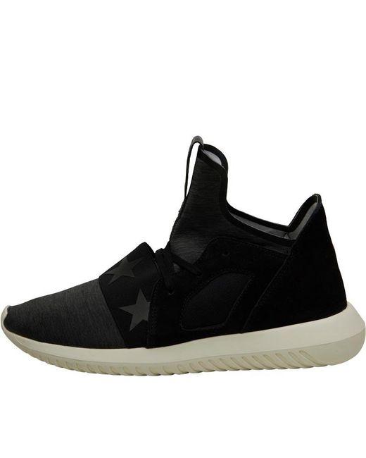 Adidas Originals tubular Defiant formadores Core negro / CORE negro