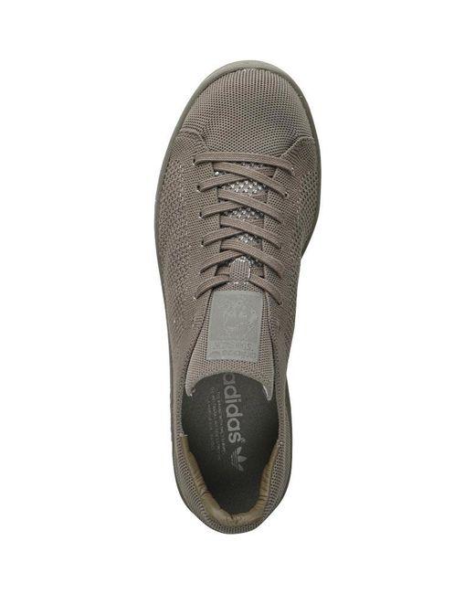 adidas Originals Leather Stan Smith Primeknit Trainers