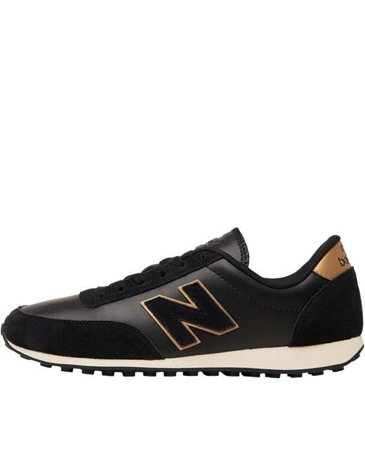 New Balance Suede 373 Womens Black / Rose Gold Trainers for Men ...