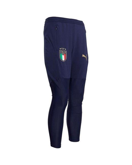 Pantalon d'Entraînement Figc Italy Pro Bleu PUMA pour homme en ...
