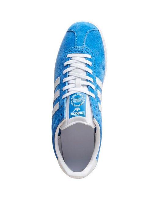 Airforce Gazelle Originals Bluewhite Adidas Trainers Suede Og E2eD9HIYW