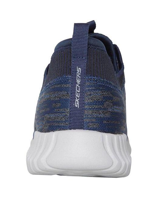 SKECHERS Baskets Elite Flex Hartnell Bleu Skechers pour homme en coloris Blue