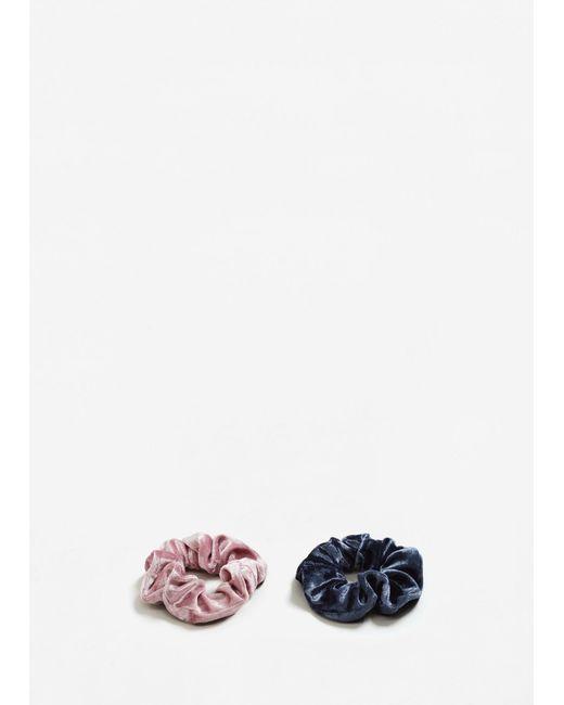 Mango | Pink Pack Hair Ties | Lyst