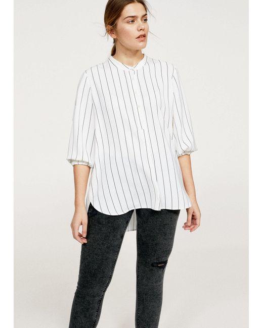 Violeta by Mango - Gray Super Slim-fit Andrea Jeans - Lyst
