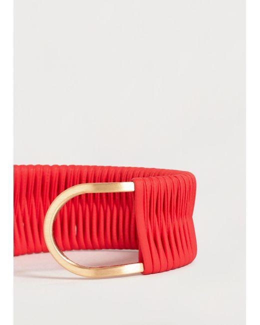 Violeta by Mango | Metallic Leather Mixed Bracelet | Lyst