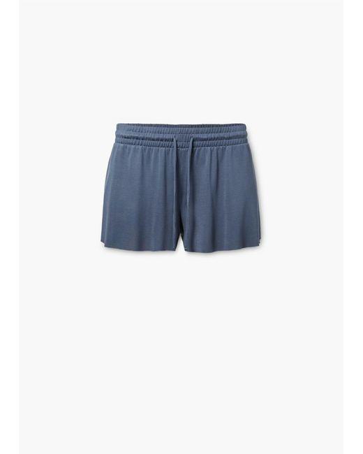 Mango | Blue Shorts | Lyst