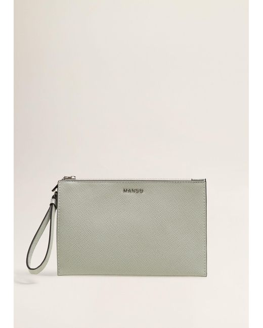 Mango - Multicolor Zipped Pebbled Cosmetic Bag - Lyst