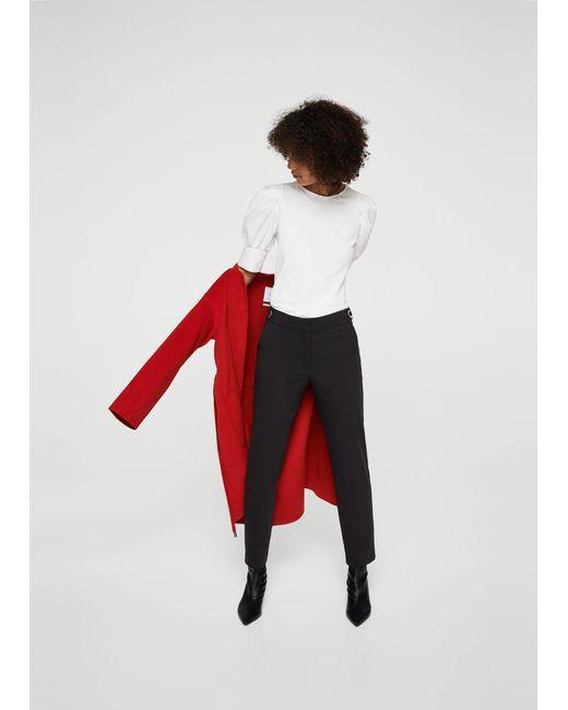 Mango   Black Trousers for Men   Lyst