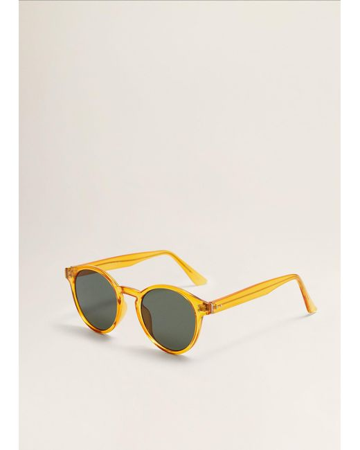 c6845be302 ... Mango - Multicolor Rounded Sunglasses for Men - Lyst ...